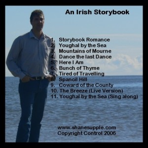 Shane Supple CD 4 Irish Storybook back cover
